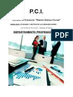 PCI Profesionales Escuela de Comercio 2016