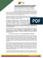 Razones de La Inconveniencia de Las Bases Militares Extranjeras en El Ecuador