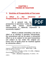 Doctrines in Taxation