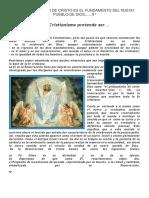 La Resurrección de Cristo Es El Fundamento Del Nuevo Pueblo de Dios