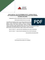 IC 2018 Reticacao Edital - Altera Quantitativo Nas Modalidades