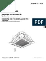 FUJITSU Manual Tecnico Cassete Inverter Aubg45lrla (1)