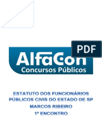 Estatuto Funcionarios Publicos Civis Do Estado SP