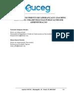 Desenvolvimento de Lideranças e Coaching Executivo Uma Revisão Das Publicações Em Administração