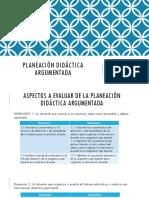 Planeación Didáctica Argumetada 2