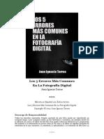 Los Cinco Errores Mas Comunes - Juan I. Torres