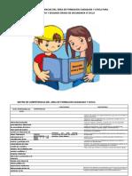 Matriz de Competencias Del Área de Formación Ciudadana y Cívica Para