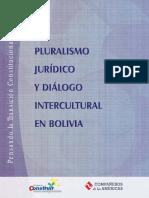 Libro Pluralismo Juricio en Bolivia