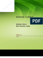 NVIDIA CUDA C Best Practices Guide 3.1