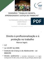 6º PAINEL - 1ª Palestra - Des. Sírio Darlan de Oliveira - TRT Da 1ª Região