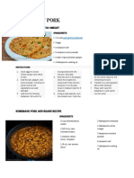 5 Recipe of Pork