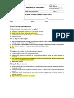 Verificacion de Conocimiento de Protocolos de Fatalidad
