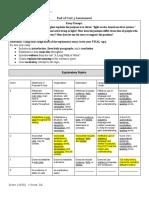 ssa end of unit 3 assessment grade sheet