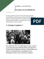 Los Freudianos Rusos y La Revolución de Octubre_Enrique Carpintero