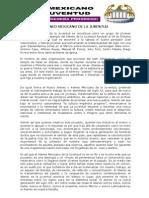 Fundamentos Ateneo Mexicano de La Juventud siglo xxi