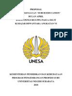 Proposal Subuh Education