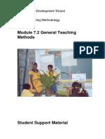 Pd Tm 7 2 General Teaching Methods Student