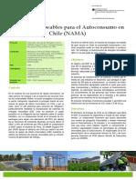 Energias Renovables Para El Autoconsumo en Chile NAMA