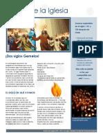 Boletin Informativo Historia de La Iglesia