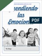 Cuaderno 1 Aprendiendo Las Emociones