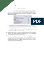 Ejercicios Finanzas (balance general y EERR)