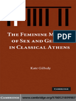 Kate Gilhuly-The Feminine Matrix of Sex and Gender in Classical Athens-Cambridge University Press (2008).pdf