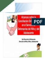 DEMUNA Conciliacion Extrajudicial