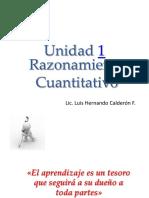 Razonamiento Cuantitativo Clase 1