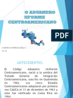 Código Aduanero Uniforme Centroamericano