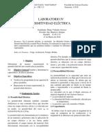 Laboratorio IV Permitividad Elétrica