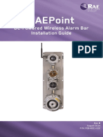 Manual RAEPoint Installation Guide DC Alarmbar Rev B English