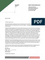 letter of reccomendation brooke