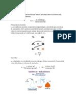 Informe Quimica I