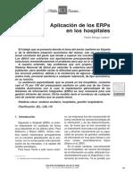 Aplicacion de Los ERPs