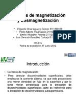 Metodos de Magnetizacion y Desmagnetizacion