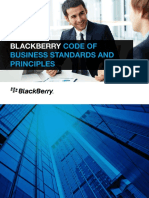 Code of Business Standards and Principles