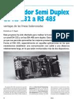 Convertidor Rs232 a Rs485