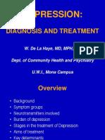 4th years Depression_ Diagnosis and Treatment - De La Haye Lecture 3.ppt