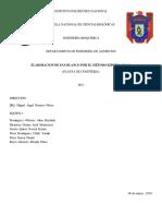 Informe Pan Blanco 1