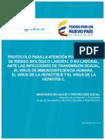 Protocolo Riesgo Biologico Its Vih Hepatits Enero2018