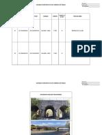 Formulario Para Inventario de Obras de Paso