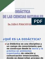 DIDÁCTICA CIENCIAS NATURALES
