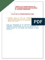 Atencion Al Cliente Financiero