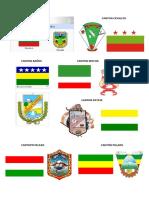 Banderas y Escudos de Los Cantones de Tungurahua