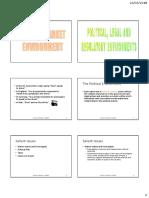 5. World Market Environment - Political, Legal & Regulatory