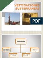 08 Investigaciones Subterraneas en Las Rocas