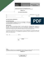 ANEXO 4 Declaración Jurada de No Tener Antecedentes Penales