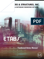 Etabs - Technical Notes Manual