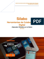 Herramientas de Colaboración Digital - Espcialidad en Ofimática en La Nube - 2017-1-02