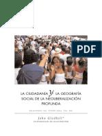 Ciudadania y Geografia Social Del Neoliberalismo